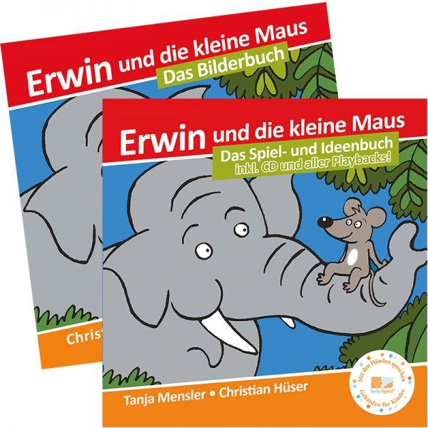 E-Book-Set: Erwin-Begleitbuch + Bilderbuch