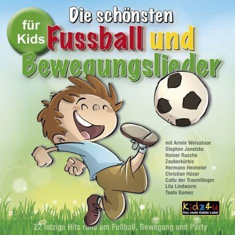 CD: Die schönsten Fussball und Bewegungslieder