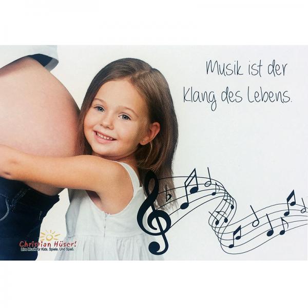 Musik ist ... Postkarte