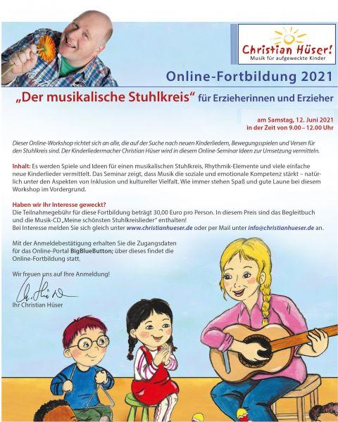 """Online-Fortbildung """"Der musikalische Stuhlkreis"""""""