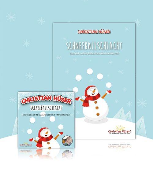 "CD ""Schneeballschlacht"" + Begleitbuch (SET!)"