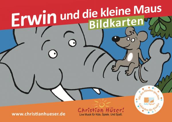 """Bilderkartenset """"Erwin"""" für Erzähltheater"""